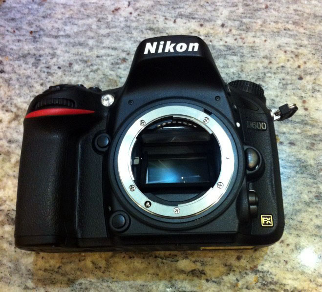 Nikon D600 Full Frame Camera Body