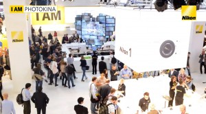 Nikon booth at Photokina 2012