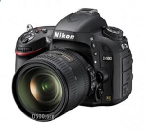 Nikon D600 Angle