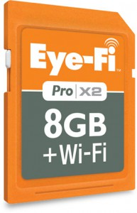 Eye-Fi Pro X2 8GB SDXC Wi-Fi Secure Digital Card