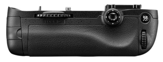 Nikon D600 Battery Grip MB-D14 back