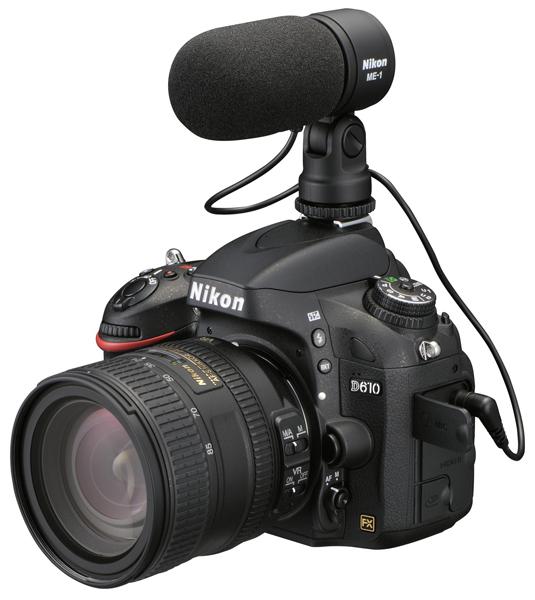 Nikon D610 with ME1