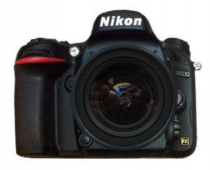 Nikon D600 with Lens