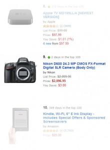 Nikon D600 Top 10 Electronics Amazon
