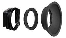 Round eyecup for Nikon