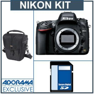 Nikon D600 Bundle at Adorama